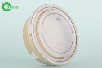 Food Storage Disposable Food Containers , Takeaway Paper Ice Cream Bowls